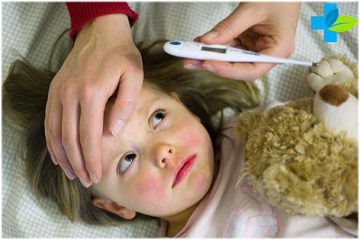 Ребёнок заболел коронавирусом
